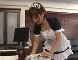 Maid Satou Haruka gets drilled by her master