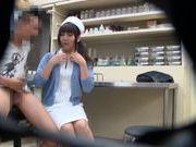 Asian nurse gets filmed in secret camera