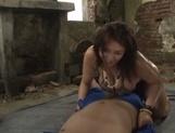 Massive Asian hottie with huge tits Mizuki Ann has hot outdoor sex
