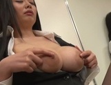 Sexy asian milf banged hard by her boss picture 12