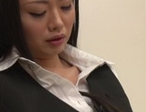 Sexy asian milf banged hard by her boss