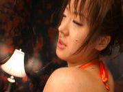 Nasty Teen Misaki Shiraishi Gets Her Hairy Cunt Fingered and Fucked