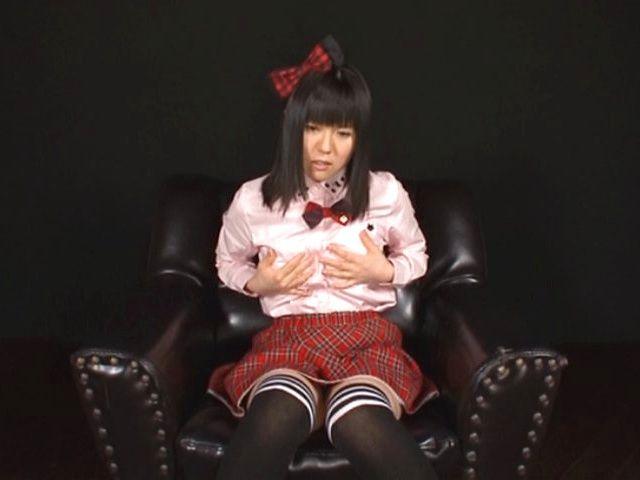 Riko Ichikawa is good at solo masturbation