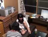 Kinky Japanese amateur with tiny tits enjoys hard fucking picture 5