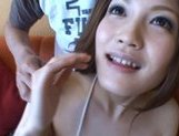 Japanese AV models pretty Asian girls enjoy fucking with a friend picture 11