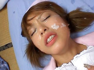 Hitomi Hayasaka Pretty Asian chick gets hot facial