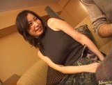 Mature Asian model is into bukkake picture 4
