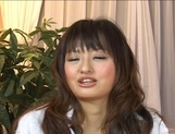 Saori Hot Asian model is fucked hard in all positions