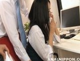 Adorable Asian beauty Mai Mizuswa enjoys anal and pussy licking