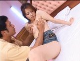 Japanese AV model likes her pussy fucked in all positions picture 14