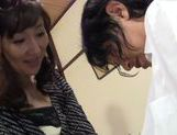 Gorgeous Japanese AV Model gets fingered publicly