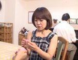 Mature Japanese lady enjoys lots of pussy masturbation