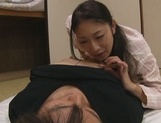 Mature Asian babe gets fucked hard doggy style