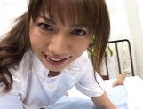 Aki Yatoh Asian nurse likes fucking on top