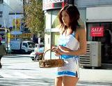 Naughty Riko Tachibana Sells More than her basket of Sweets Today picture 7