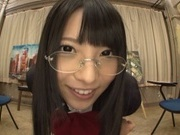 Amateur Ai Uehara shows off masturbating on cam