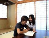 Misato Lovely Asian teacher is giving private lessons