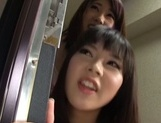 Lovely Japanese teens are horny for some cock picture 10