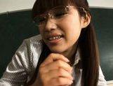 Kirara Kurokawa Sweet Asian teacher is a hottie with big tits picture 11