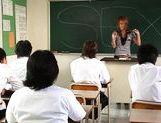 Risa Coda Asian teacher is ripe for a fucking picture 11