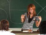 Risa Coda Asian teacher is ripe for a fucking picture 12