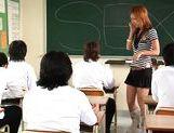 Risa Coda Asian teacher is ripe for a fucking picture 13