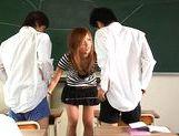 Risa Coda Asian teacher is ripe for a fucking picture 15