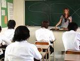 Risa Coda Asian teacher is ripe for a fucking