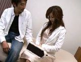 Hot Asian babe is a married secretary in the office
