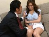 Yuna Shiina Lovely Asian teacher is a fine sex partner picture 5