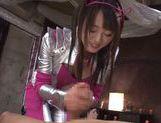 Kokoro Harumiya hot Asian teen in cosplay sex action