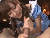 Oral adventures with sexy Ryou Hashimoto picture 15