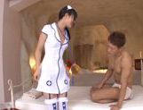 Kokoro Harumiya hot Asian chick in cosplay sex action picture 2