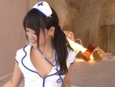 Kokoro Harumiya hot Asian chick in cosplay sex action picture 3
