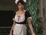 Makoto Yuuki hot Asian maid ends up with cum on her face