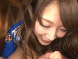 Sweet Aozora Yamakawa enjoys deep blowjob