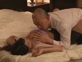 Mature Asian Erika Masuwaka in stockings banged hard by horny guy picture 15