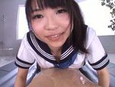 Busty Akane Yoshinaga likes to ride picture 9