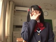 Naughty AI Uehara goes nasty with her horny teacher
