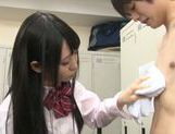 Body licking with nice Asian teen Rin Suzune picture 4