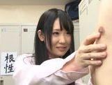 Body licking with nice Asian teen Rin Suzune