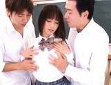 Shelly Fujii Naughty and hot Japanese schoolgirl is horny