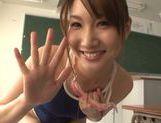 Mikuni Maisaki sexy teen shows off her talent