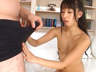 Arousing Asian babe Yuuki Itano gets a hot cum facial