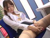 Japanese Yui Ooba in sexy stockings loves to masturbate picture 36