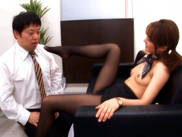 Mihiro Hot Japanese doll has kinky sex in the office