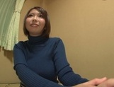 Playful cheerleader Hina Kamikawa strips and enjoys cock in pussy picture 11