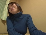 Playful cheerleader Hina Kamikawa strips and enjoys cock in pussy picture 12