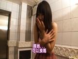 Natsumi Kato Japanese beauty gets a cum facial