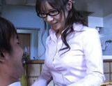 Momo Aizawa Japanese teacher is masturbating
